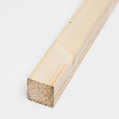Spruce strip 45x45x2000 mm