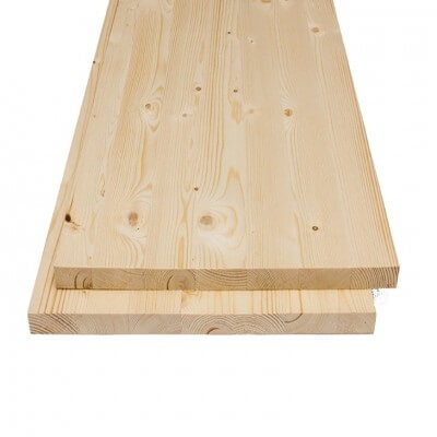 Spruce glued panel 18x2500x800 mm