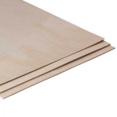 Birch Plywood 1525x1525 mm sp.1,5 mm - AB-B uso interno taglio laser