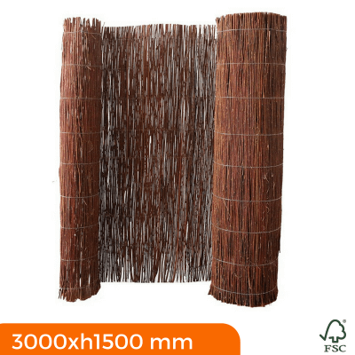 Willow fencing roll 3000x1500 mm