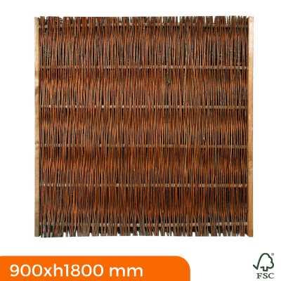 Frangivista in Salice senza telaio 900x1800 mm