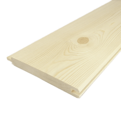 Spruce tongue and groove board 20x150x2000 mm