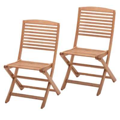 Acacia Folding Chair 40