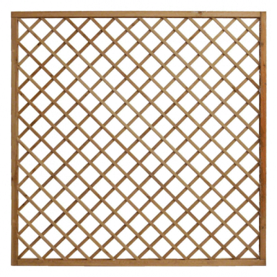 Grigliato in legno autoclave 1200x1800 maglia 120 mm