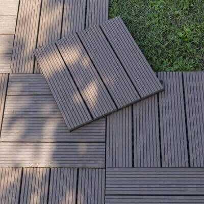Mattonella composita Bamb— e Resina 300x300 mm
