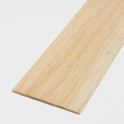 Balsa sheet 0,8x100x1000 mm