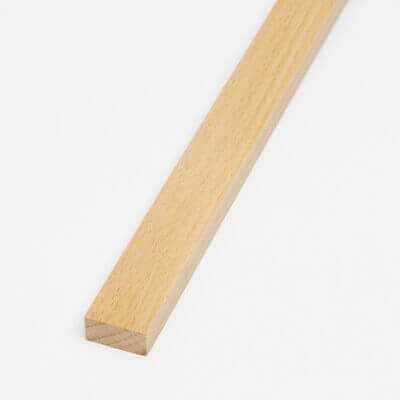Listello Faggio 10x15x800 mm