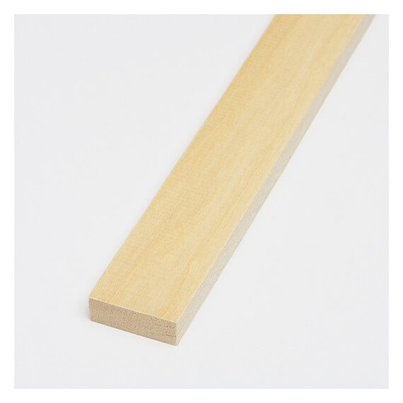 Listello Tiglio 5x10x800 mm