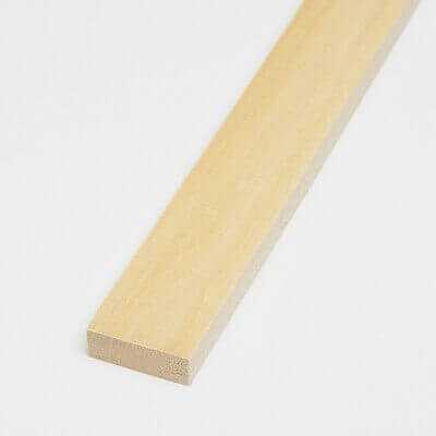 Listello Tiglio 10x40x800 mm
