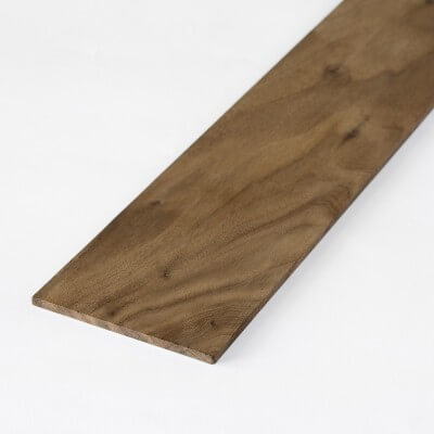 Walnut sheet 2x100x1000 mm