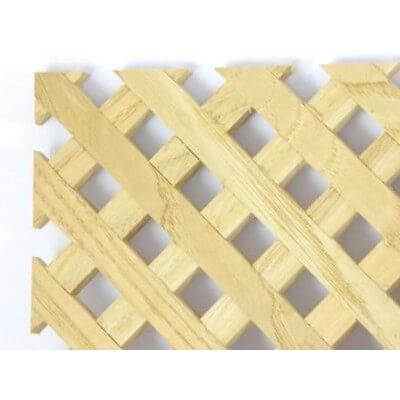 Griglia in legno Castagno 570x300x7 mm