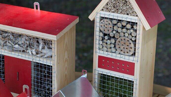 Casette per insetti: alleate dell'ambiente!